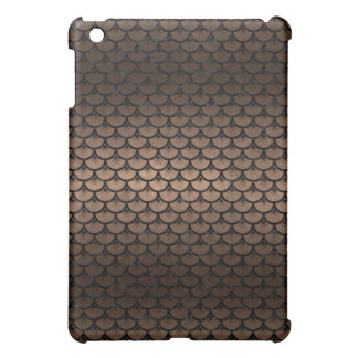 SCALES3 BLACK MARBLE & BRONZE METAL (R) CASE FOR THE iPad MINI