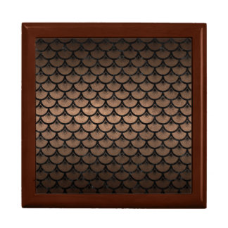 SCALES3 BLACK MARBLE & BRONZE METAL (R) GIFT BOX