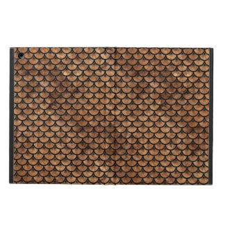 SCALES3 BLACK MARBLE & BROWN STONE (R) iPad AIR COVER