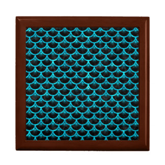 SCALES3 BLACK MARBLE & TURQUOISE MARBLE GIFT BOX