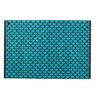 SCALES3 BLACK MARBLE & TURQUOISE MARBLE (R) COVER FOR iPad AIR