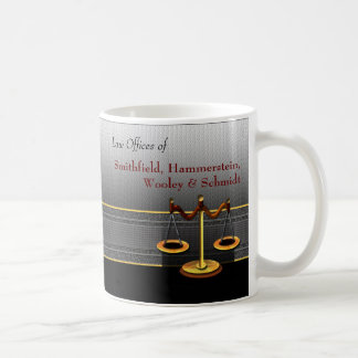 Scales of Justice Business Elegance Law Office Coffee Mug