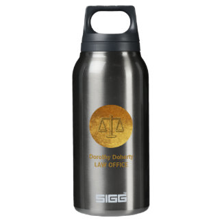 Scales of Justice Insulated Water Bottle