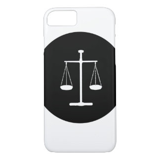scales of justice iPhone 7 case