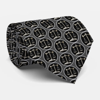 Scales of Justice | Law Tie