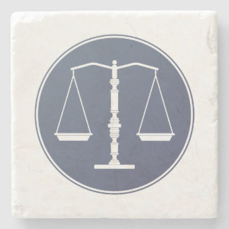 Scales of Justice | Lawer Gifts Stone Coaster