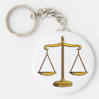 Scales of Justice | Lawyer Keychain