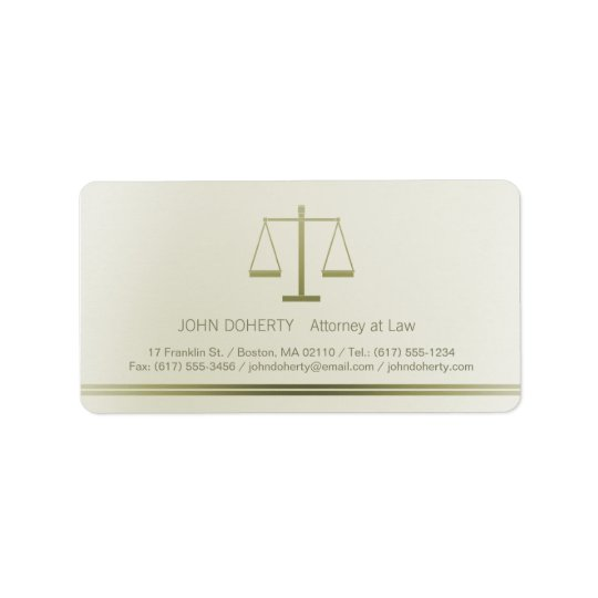 Scales of Justice | Lawyer Label