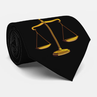 Scales of Justice | Lawyers Gifts Tie