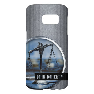 Scales of Justice Samsung Galaxy S7 Case