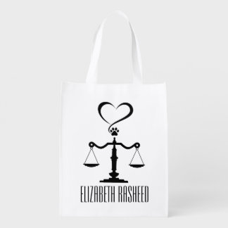 Scales of Justice Tote