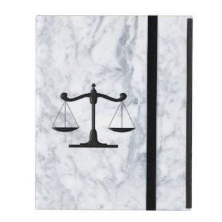 Scales on Marble iPad Folio Case