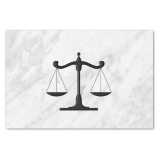 Scales on Marble Tissue Paper