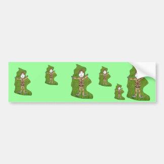 Scallidop - tufty top bumper stickers