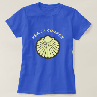 Scallop Shell Beach Comber T-Shirt