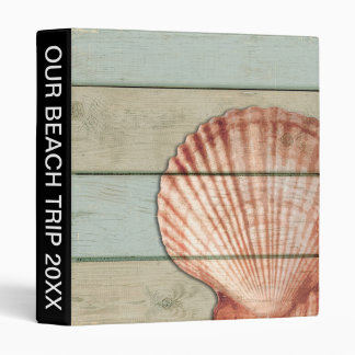 Scallop Shell Binder