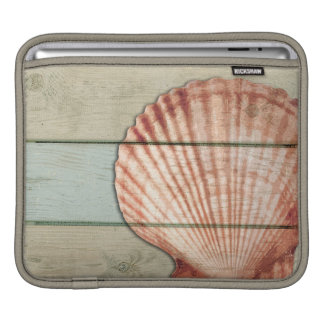 Scallop Shell iPad Sleeve