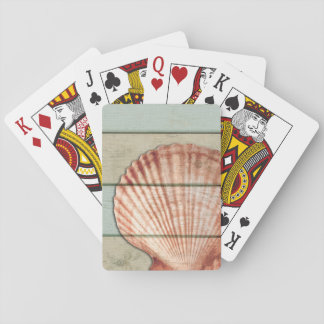 Scallop Shell Playing Cards