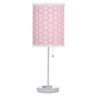Scallop Shells Light Pink Table Lamp