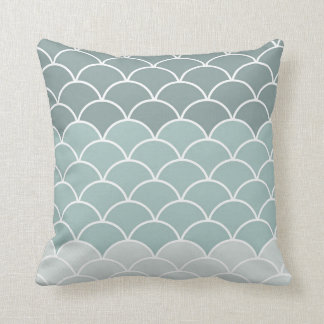 Scalloped Pillow - Tri-tone