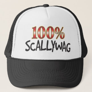 Scallywag 100 Percent Trucker Hat