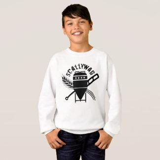 Scallywag Brewing Logo Front Kids Sweatshirt