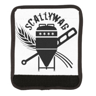 Scallywag Logo Luggage Handle Wrap