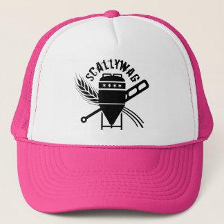 Scallywag Logo Pink Trucker Hat