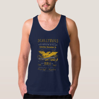 Scallywags 12 7/12 Anniversary Label Tank Top