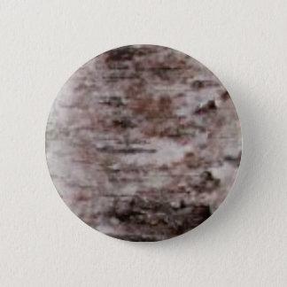 scaly white bark art 2 inch round button