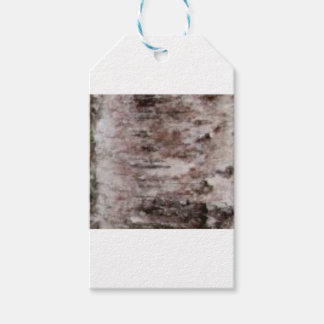 scaly white bark art gift tags