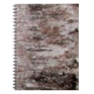 scaly white bark art notebooks