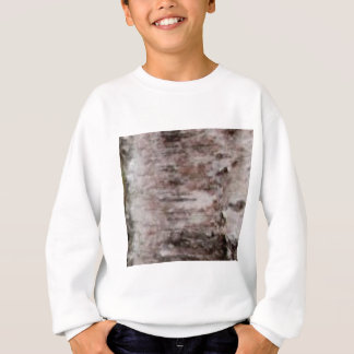 scaly white bark art sweatshirt