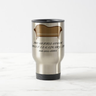 scan0001, THE COFFEE COUCH128-28 STREET S.E CAL... Travel Mug