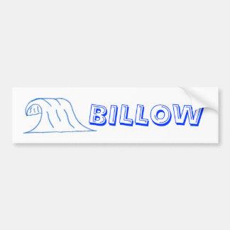 scan0005, BILLOW Bumper Sticker
