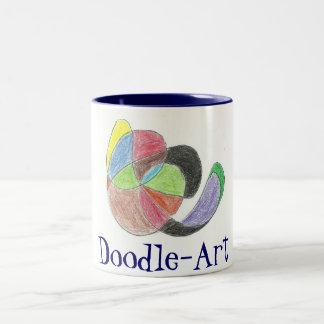 scan0005, Doodle-Art Two-Tone Coffee Mug