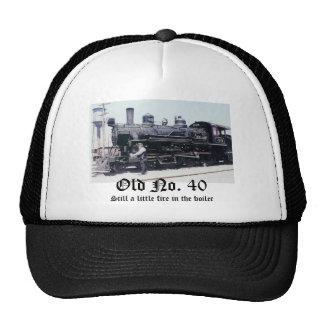 Scan0006, Old No. 40, Still a little fire in th... Trucker Hat