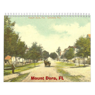 scan0009, Mount Dora, FL Wall Calendar