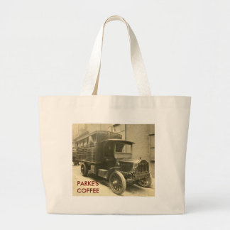 scan0009, PARKE'S COFFEE Large Tote Bag