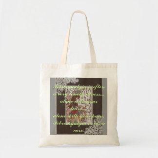 Scan45, Fibromyalgia is often a very lonely ill... Tote Bag