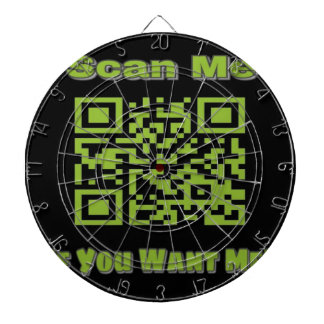 Scan Me If you want me Dartboard