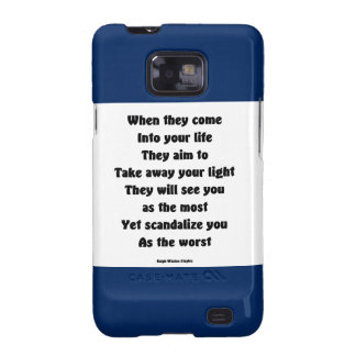 Scandalize you as the worst galaxy SII covers