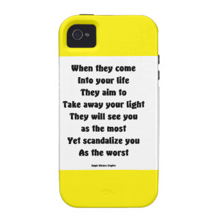 Scandalize you as the worst iPhone 4/4S case
