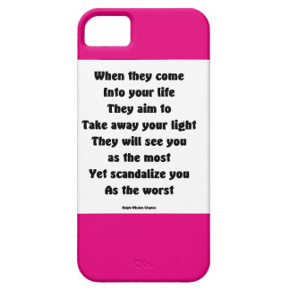 Scandalize you as the worst iPhone 5 case