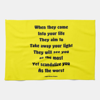 Scandalize you as the worst kitchen towels