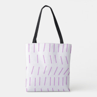 Scandi Stroke Chalk Pink Tote Bag