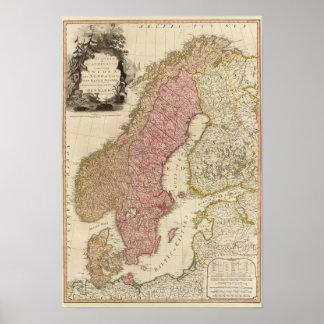 Scandia, Scandinavia Poster