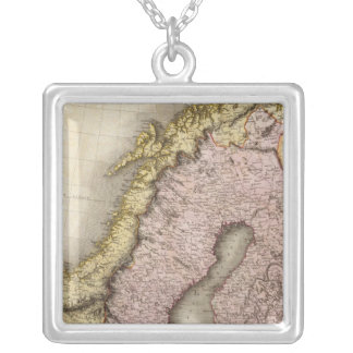 Scandinavia 2 silver plated necklace