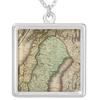 Scandinavia 3 silver plated necklace