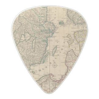 Scandinavia, Baltic Sea, Sweden, Denmark Acetal Guitar Pick